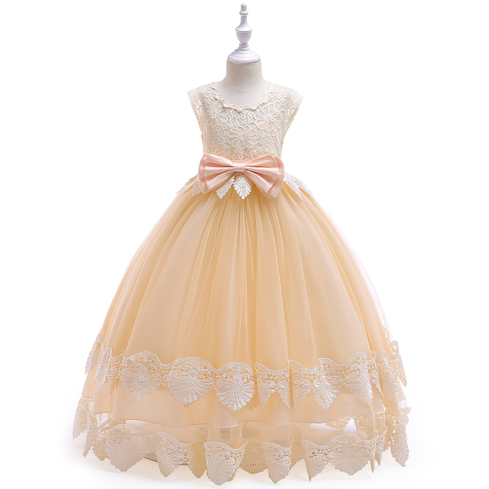 5f640a08c Kids Frock Designs Pictures Girls Clothing Long Party Wear Lace Kids ...