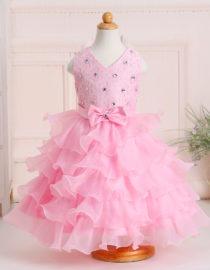 1e8a2c2dfec3 Baby Frock Designs Lace Kids Clothing Party Dress Wholesale Fashion ...