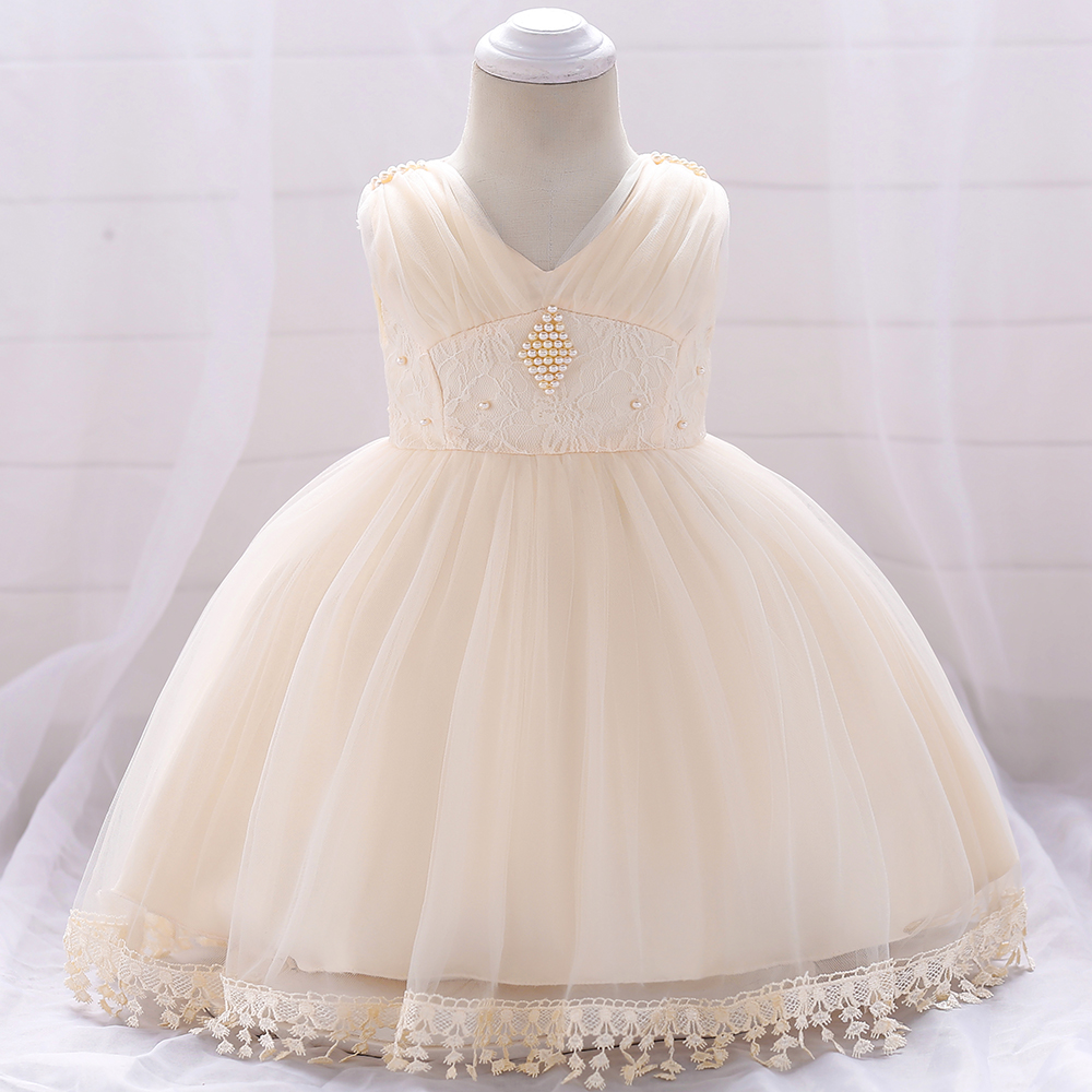 7430650f55e3 Baby Girl Party Dress Kids Flower Children Frocks Lace Dresses INF66 ...