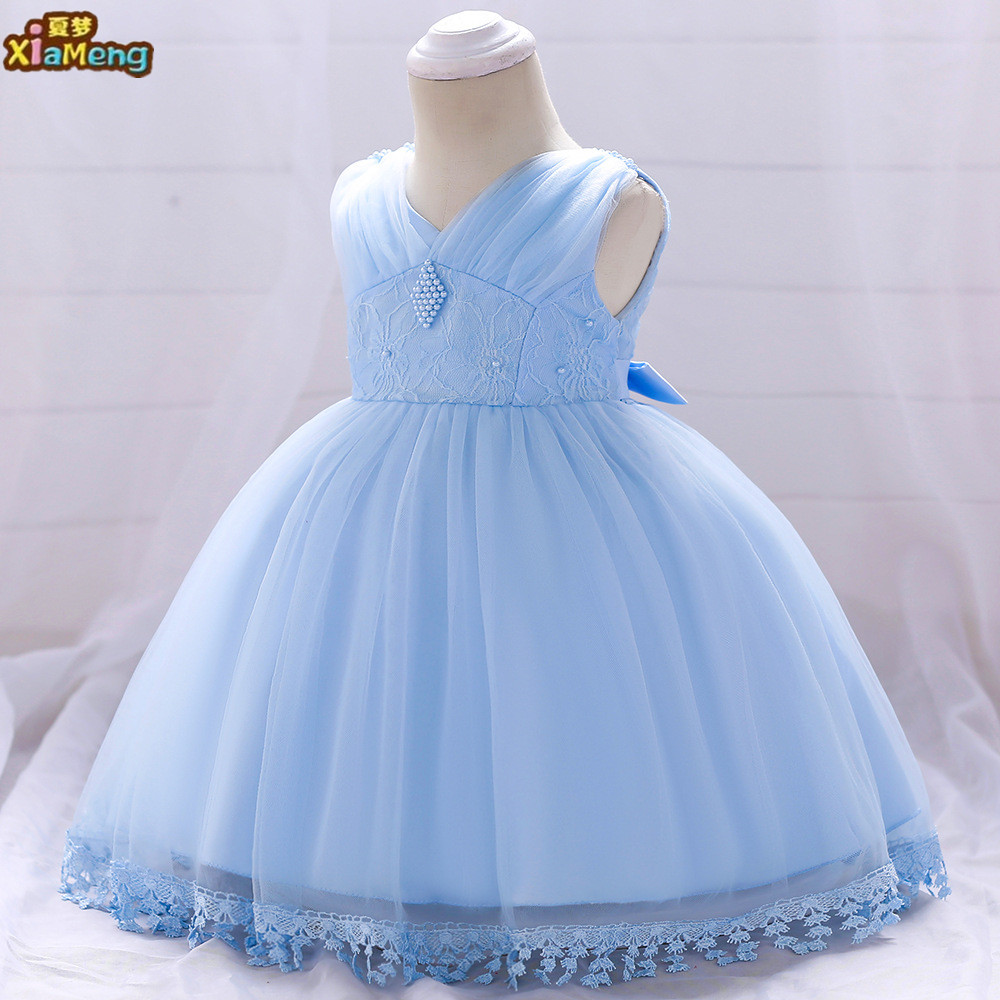 05448c79fa94 Baby Girl Party Dress Kids Flower Children Frocks Lace Dresses INF65 ...